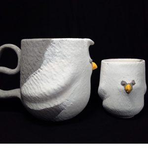 Spirituelle Keramik Birds