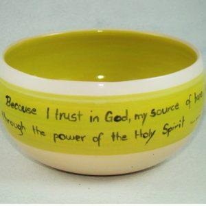 Spirituelle Keramik Schalen